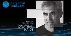 Envie sua pergunta para Jonathan Haidt