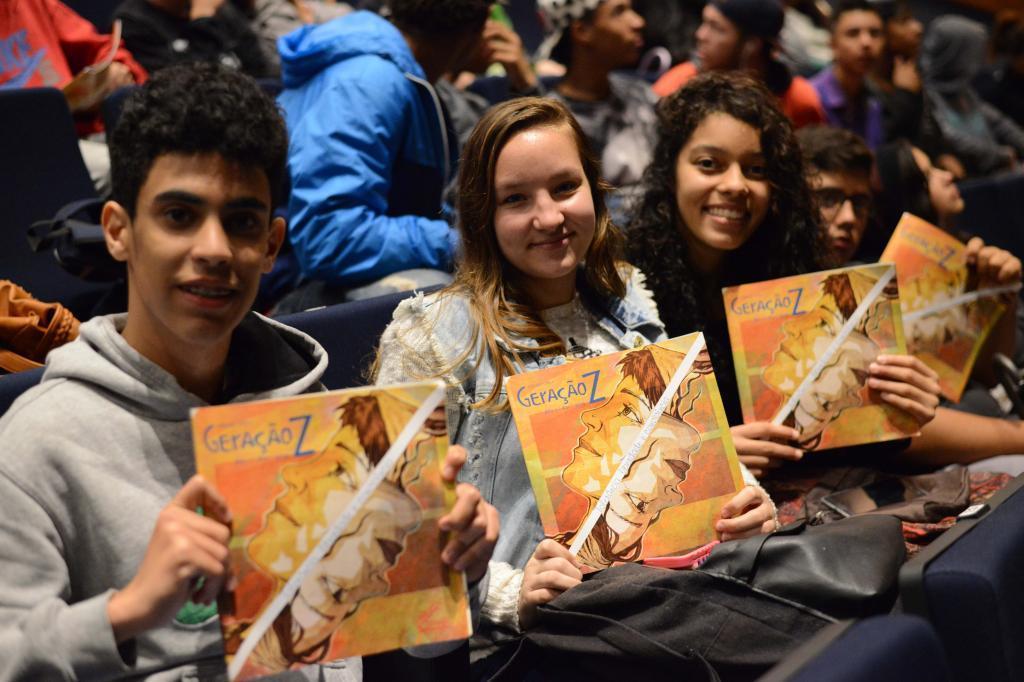 Alunos no Fronteiras Educação Porto Alegre (foto: Fronteiras do Pensamento | Luiz Munhoz)