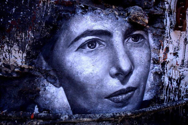 Simone de Beauvoir pelo francês Thierry Ehrmann, criador do projeto Demeure du Chaos, em Lyon.