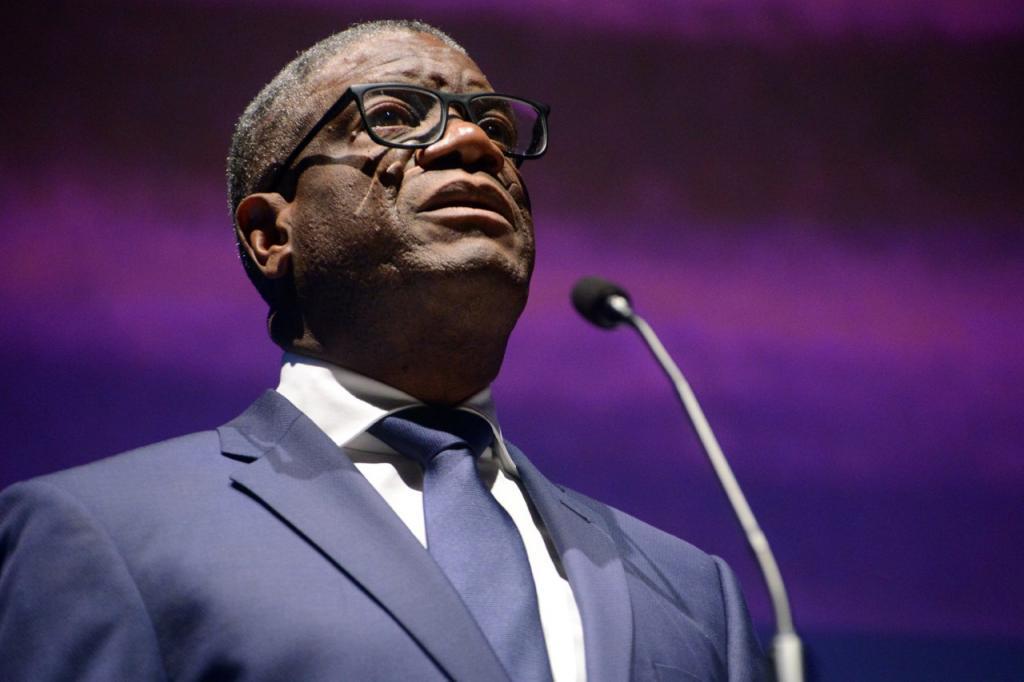 Nobel da Paz, Denis Mukwege no Fronteiras POA (foto: Luiz Munhoz/Fronteiras do Pensamento)