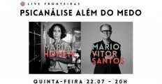 Maria Homem e Mario Vitor Santos participam da Live Fronteiras nesta quinta (22)