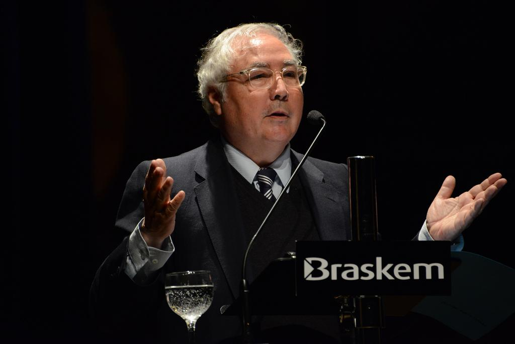 Manuel Castells (foto: Luiz Munhoz/Fronteiras do Pensamento)
