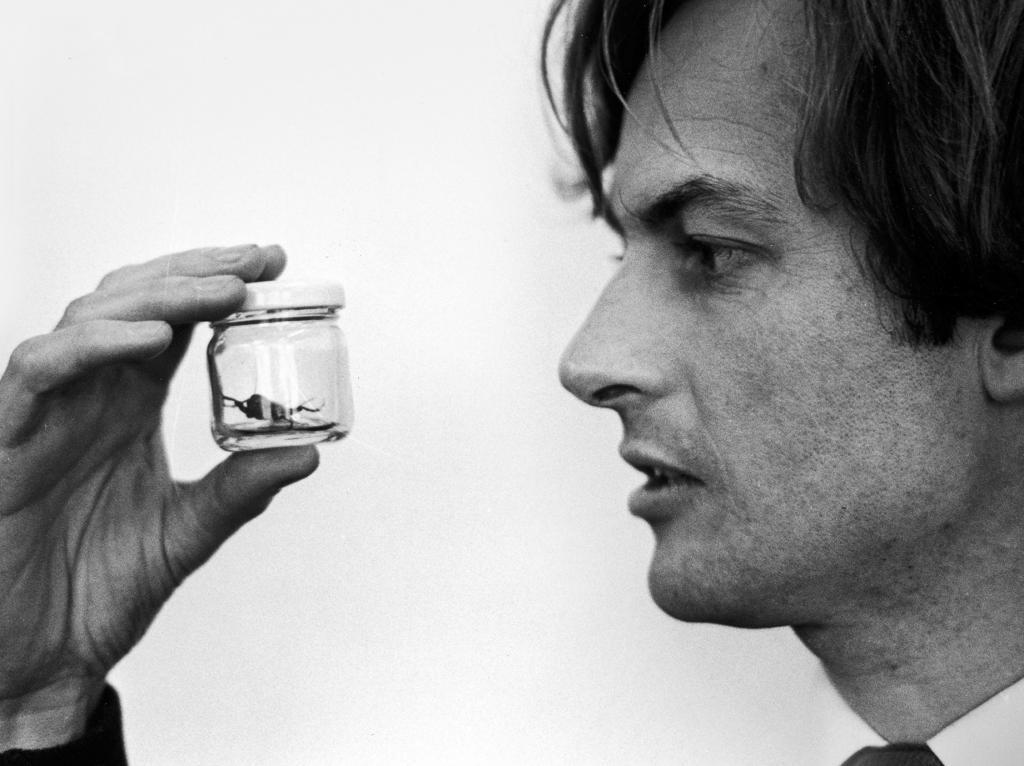 Richard Dawkins (foto extraída da capa da obra