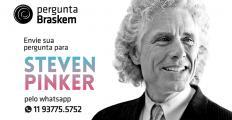 Envie sua pergunta para Steven Pinker