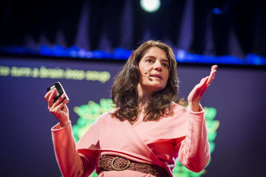 Suzana Herculano-Houzel (foto: James Duncan Davidson/TED)