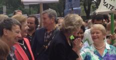 Gro Brundtland e Mary Robinson lideram manifestações prévias à Cúpula do Clima de NY