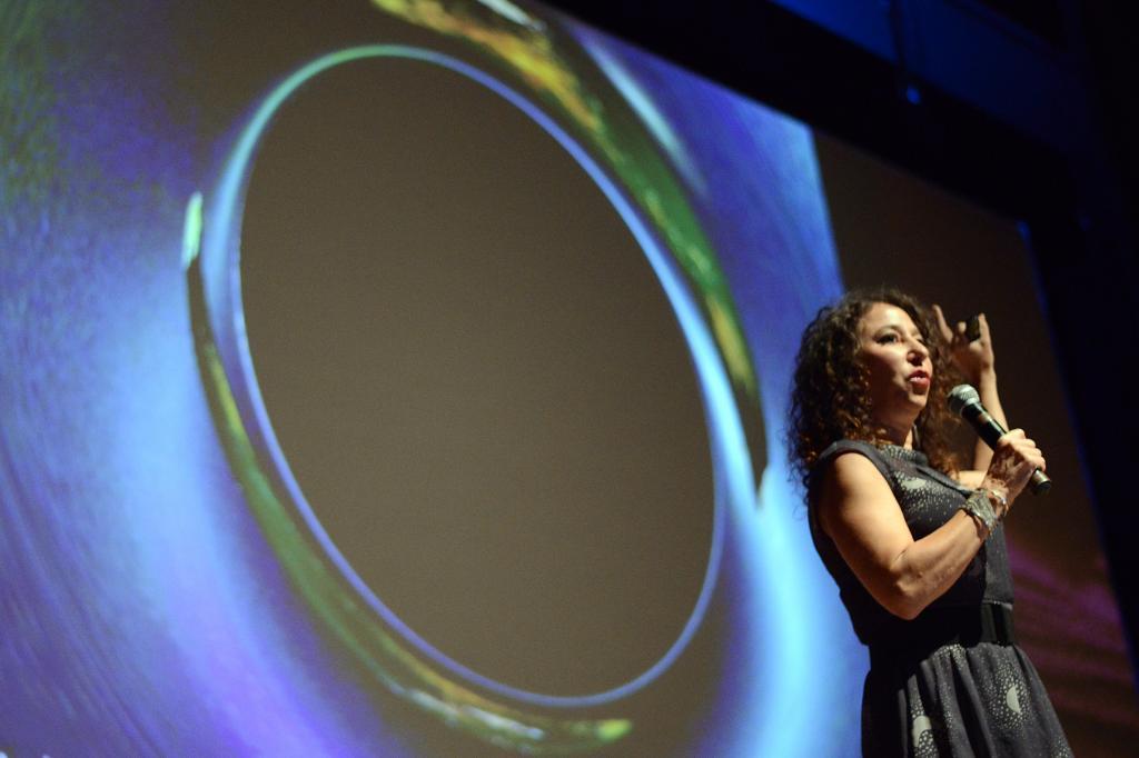 Janna Levin no Fronteiras POA (Fronteiras do Pensamento / Luiz Munhoz)