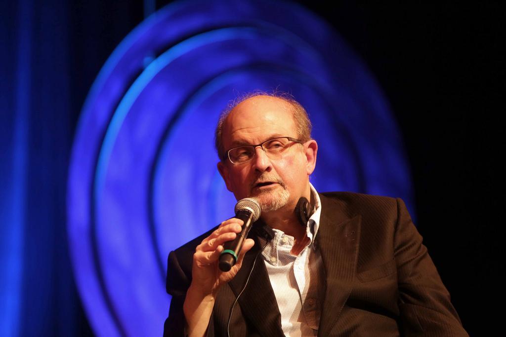 Salman Rushdie no Fronteiras do Pensamento São Paulo (foto: Greg Salibian)