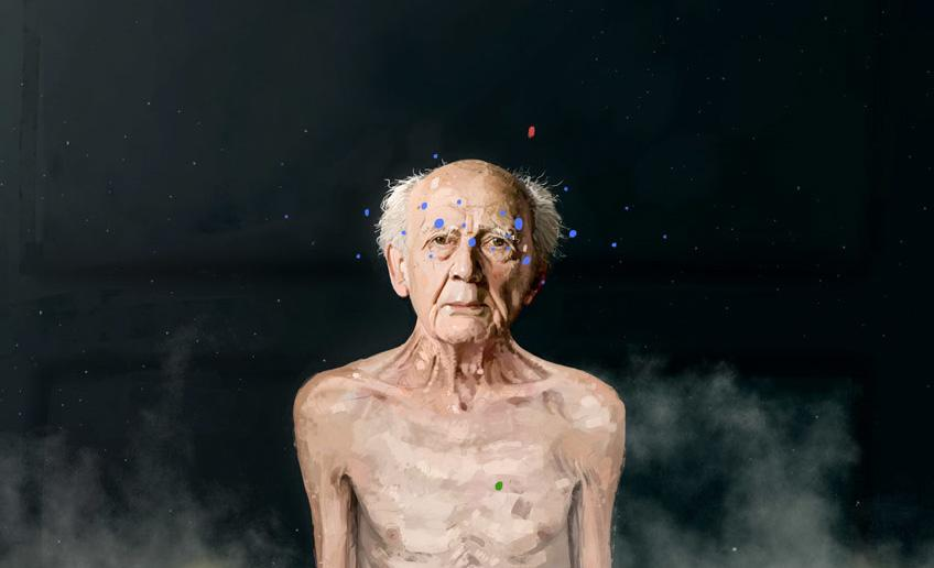 Zygmunt Bauman (ilustração: Matteo Babbi)