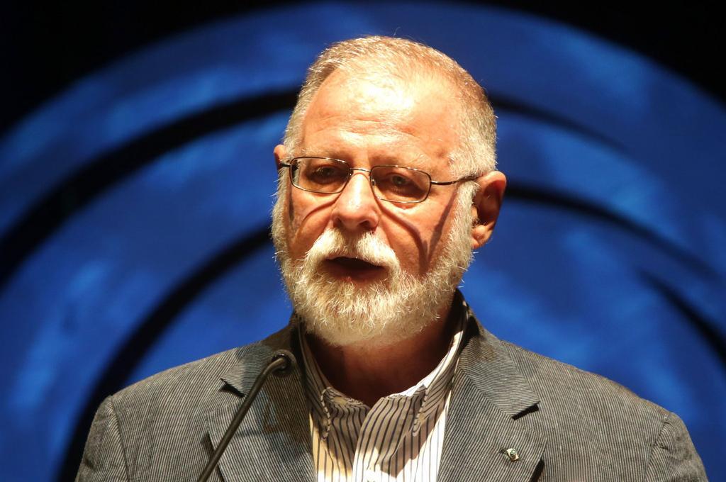 Alberto Manguel no Fronteiras São Paulo 2014 (foto: Greg Salibian/Fronteiras do Pensamento)