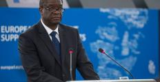 Denis Mukwege recebe prêmio por seu trabalho com mulheres vítimas de violência sexual