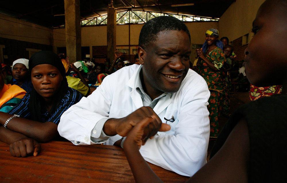 Denis Mukwege na City of Joy