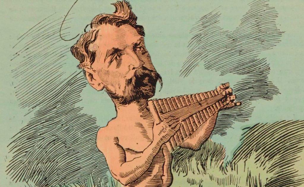 O poeta francês Stéphane Mallarmé é o autor de