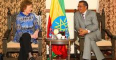 Etiópia em risco: Mary Robinson pede atenção global à seca no país africano