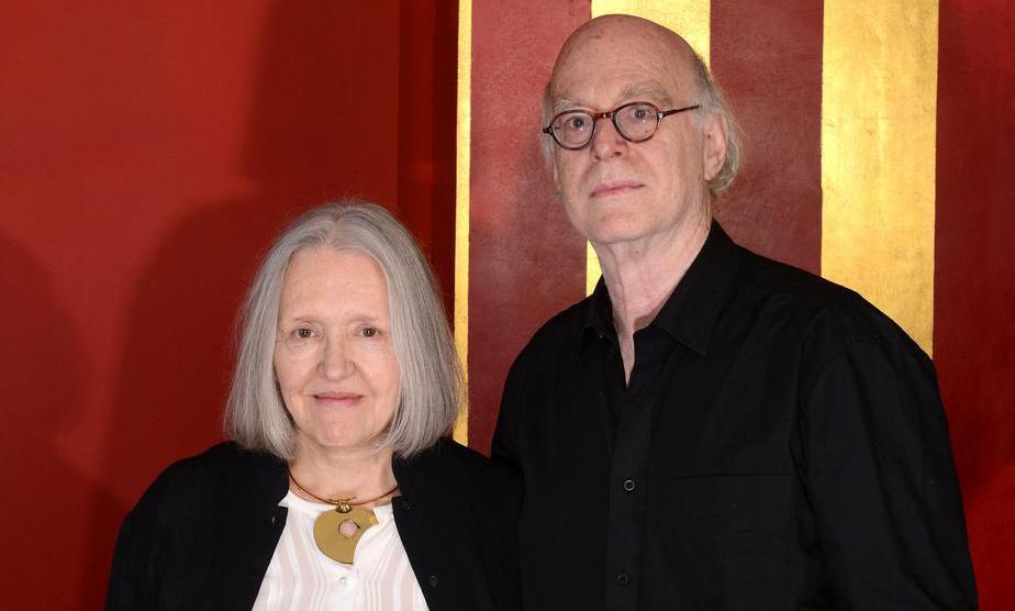Saskia Sassen e Richard Sennett (foto: Mike Wolff/Der Tagesspiegel)