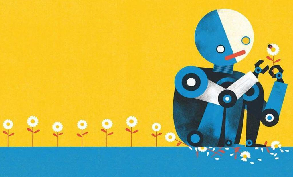 Ilustração do livro Tough Guys (Have Feelings Too), de Keith Negley