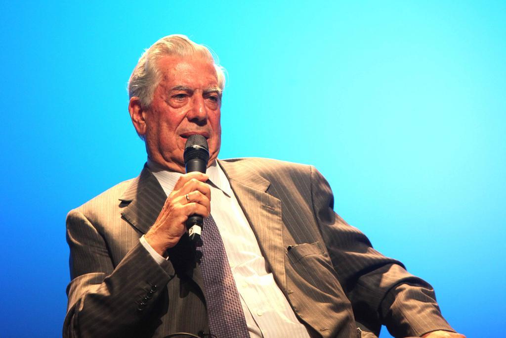 Mario Vargas Llosa (foto: Greg Salibian/Fronteiras do Pensamento)
