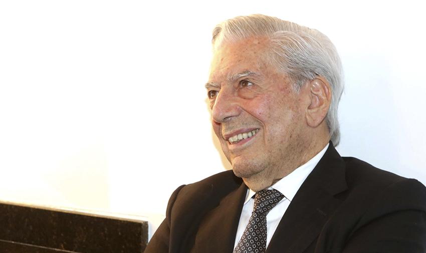 Mario Vargas Llosa no Fronteiras do Pensamento 2016.