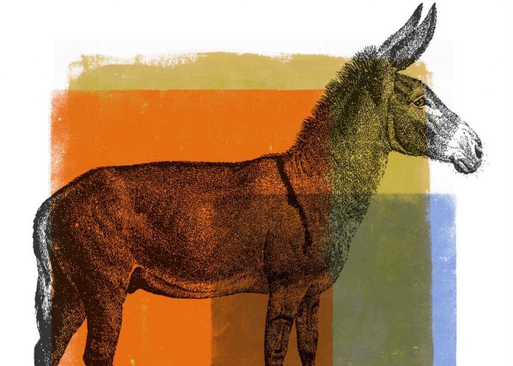 O burro, símbolo dos democratas, foi uma virada de jogo do presidente Andrew Jackson, então chamado pela oposição de