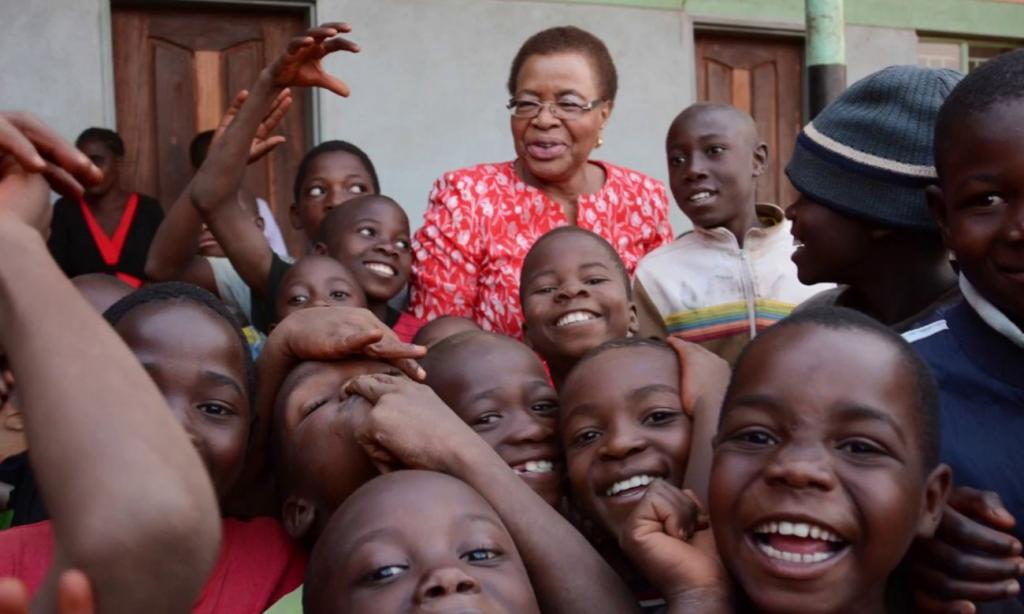 Graça Machel (foto: Diamonds Do Good Global Humanitarian Award)