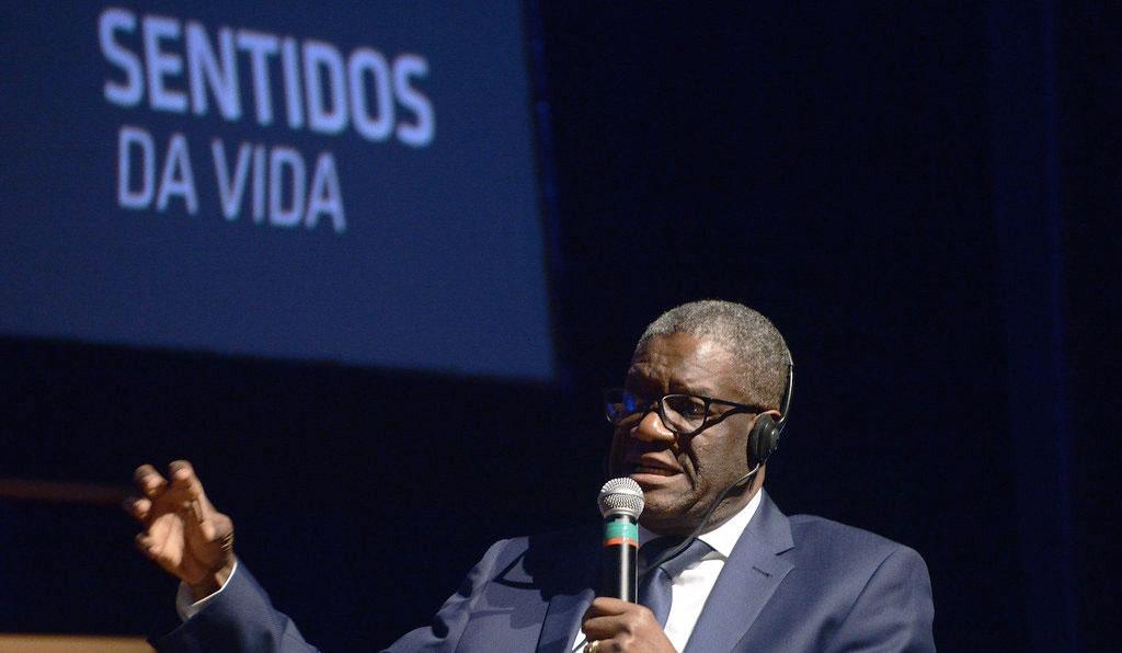 Nobel da Paz, Denis Mukwege no Fronteiras 2019