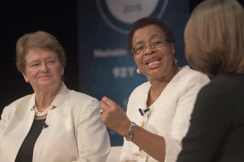 Gro Brundtland e Graça Machel (foto: The Elders)