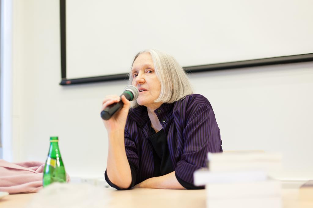 Saskia Sassen (foto: Strelka Institute)