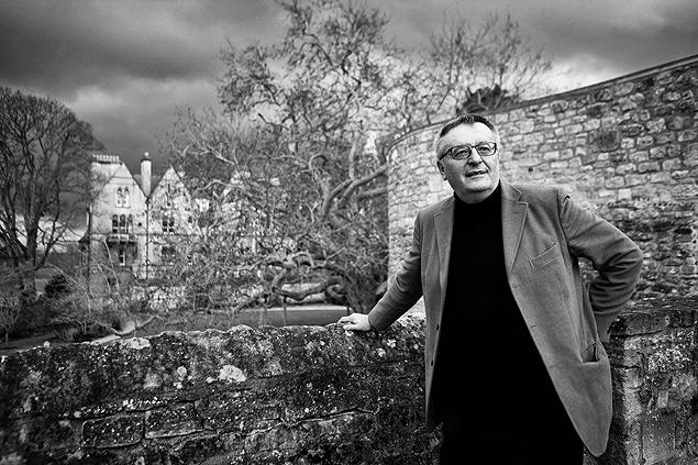 John Gray em Oxford, no Reino Unido (foto: David Levenson/Getty Images)