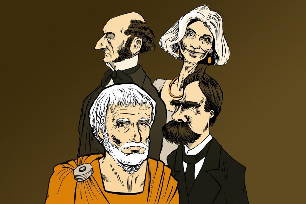 John Stuart Mill, Aristóteles, Nietzsche, influências na obra de Martha Nussbaum