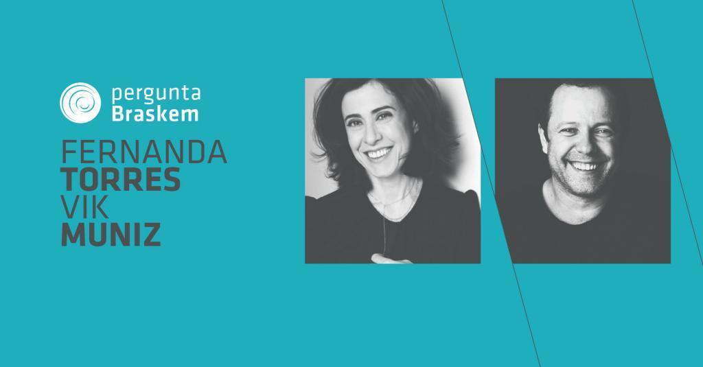 Fernanda Torres e Vik Muniz abrem a temporada 2018 do Fronteiras