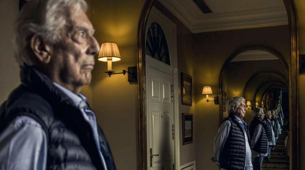 Vargas Llosa (foto: Samuel Sánchez/El País)