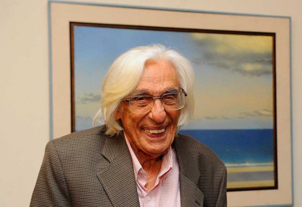 Ferreira Gullar (foto: Renato Cobucci/Imprensa MG)