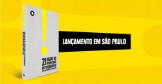 """Lançamento de """"21 ideias"""", em São Paulo, reúne Fernando Schuler e Pondé em debate sobre a democracia"""