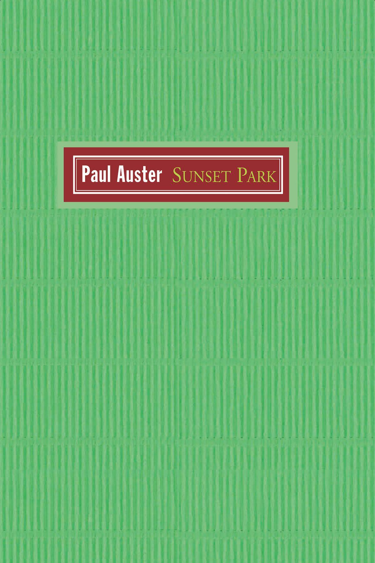 sunset park livro de paul auster